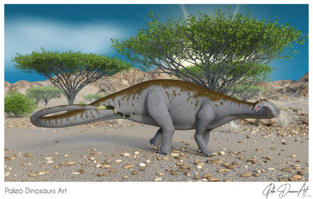 Paleo Dinosaurs Art presents: Apatosaurus