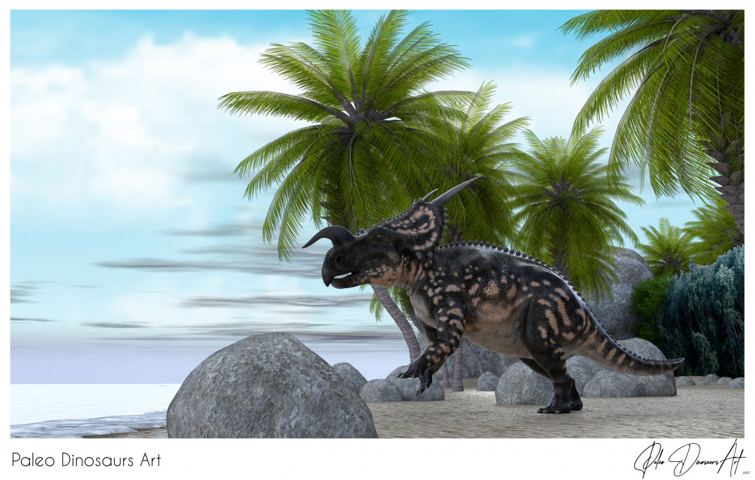 Paleo Dinosaurs Art presents: Einiosaurus