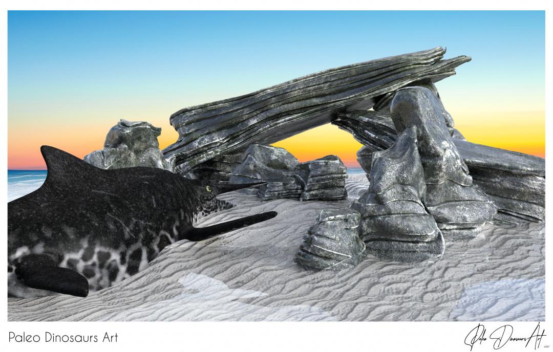 Paleo Dinosaurs Art presents: Shonisaurus