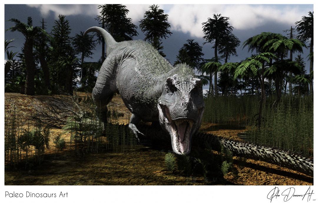 Paleo Dinosaurs Art presents: T-Rex (Tyrannosaurus Rex)