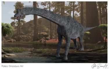 Paleo Dinosaurs Art presents: Brachiosaurus