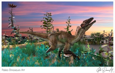Paleo Dinosaurs Art presents: Utahraptor ostrommayorum