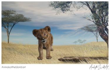 Animals of the World Art presents: Lion Cub